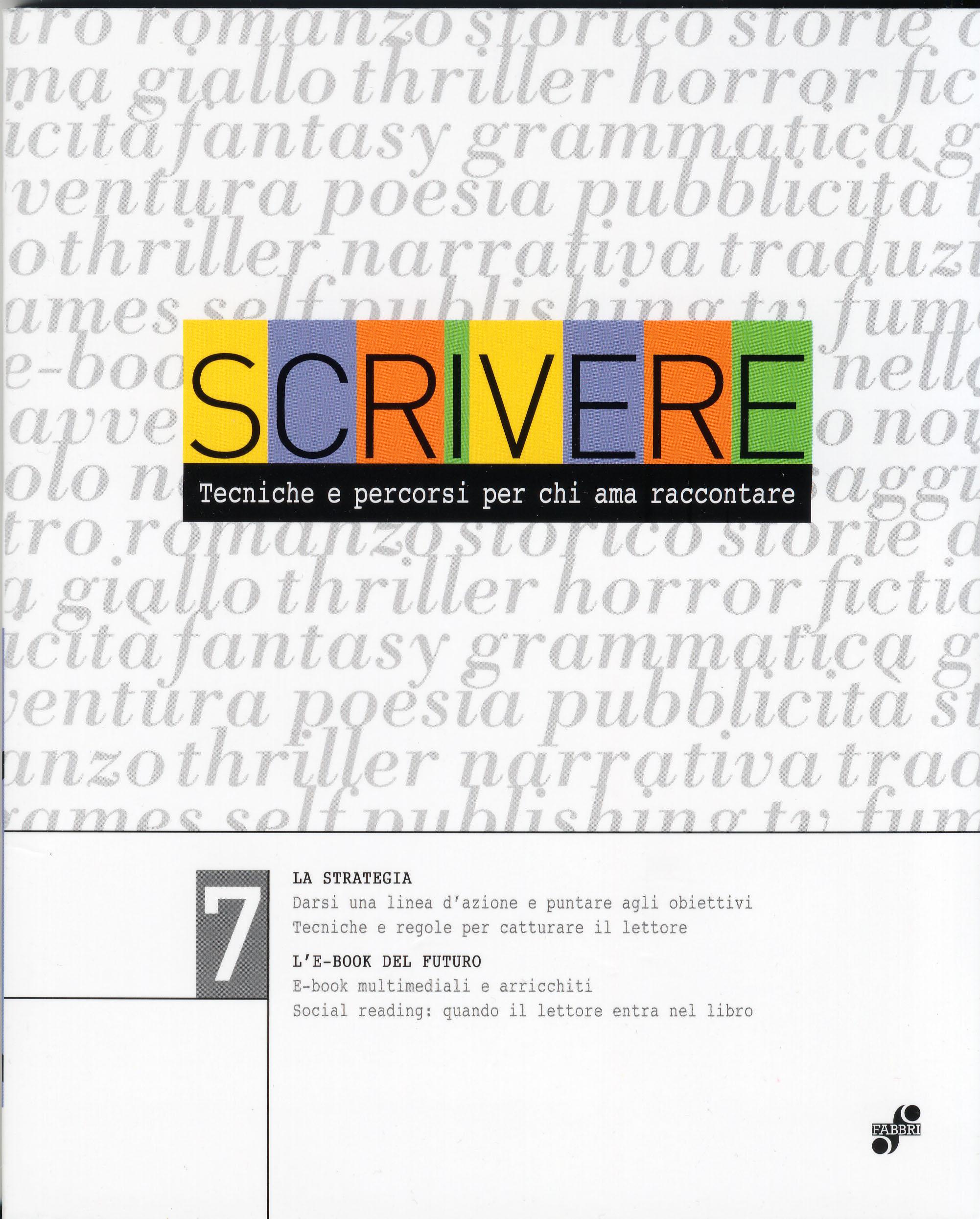 Scrivere - vol. 7