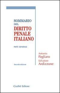 Sommario del diritto penale italiano. Parte generale