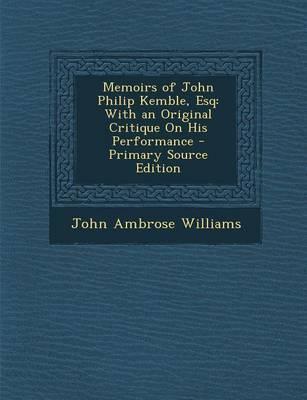 Memoirs of John Phil...