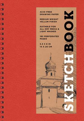 Sketchbook, Basic Small Spiral Red