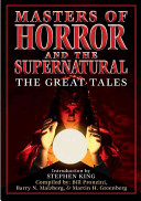 Masters of Horror and the Supernatural