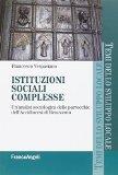 Istituzioni sociali complesse