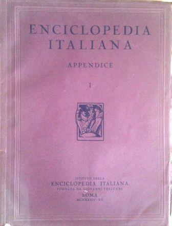 Enciclopedia italiana di scienze, lettere ed arti