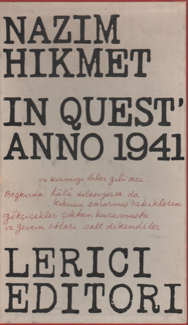 In quest'anno 1941