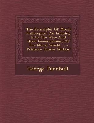 Principles of Moral Philosophy