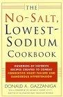 No-Salt, Lowest-Sodium Cookbook