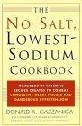 No-Salt, Lowest-Sodium Cookbook