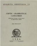 Coptic Grammar Categories