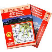 Valgrisenche-Val di Rhemes-Valsavarenche. Scala 1