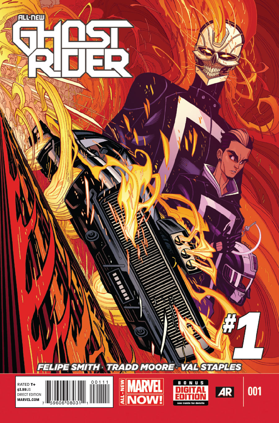 All-New Ghost Rider Vol.1 #1