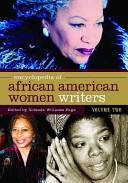 Encyclopedia of African American Women Writers