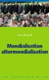 Mondialisation altermondialisation