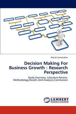 Decision Making For Business Growth