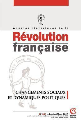 Annales historiques de la Révolution française, N° 359, Janvier-Mars
