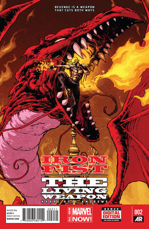 Iron Fist: The Living Weapon Vol.1 #2