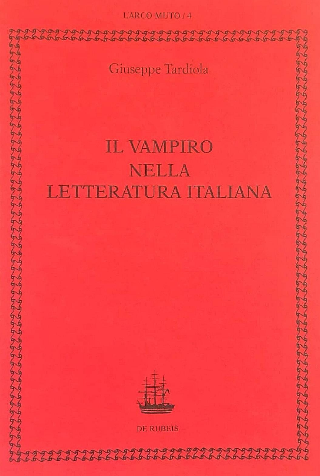 Il vampiro nella letteratura italiana