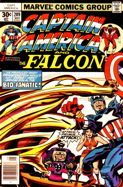 Captain America Vol.1 #209