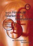 British Financial Markets and Institutions