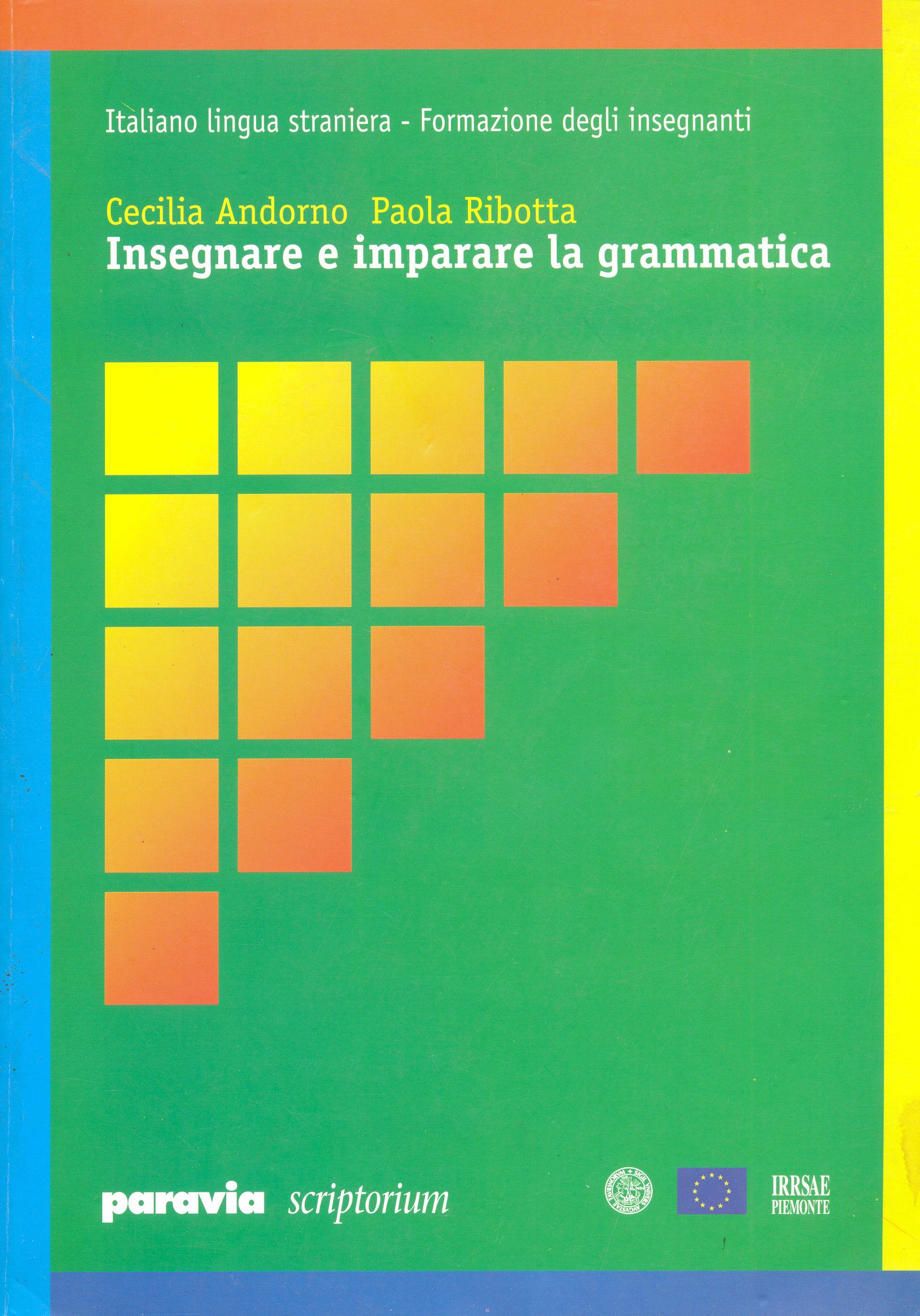 Insegnare e imparare la grammatica