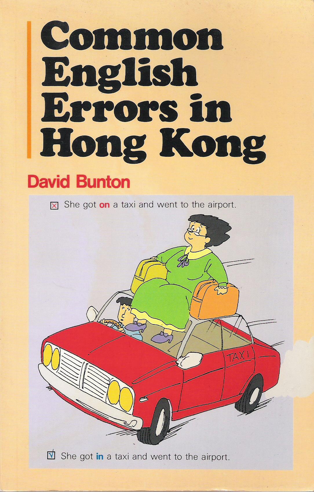 Common English Errors in Hong Kong