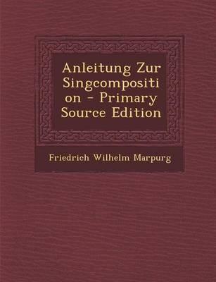 Anleitung Zur Singcomposition