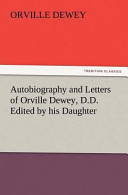 Autobiography and Letters of Orville Dewey, D.D. Edited by His Daughter