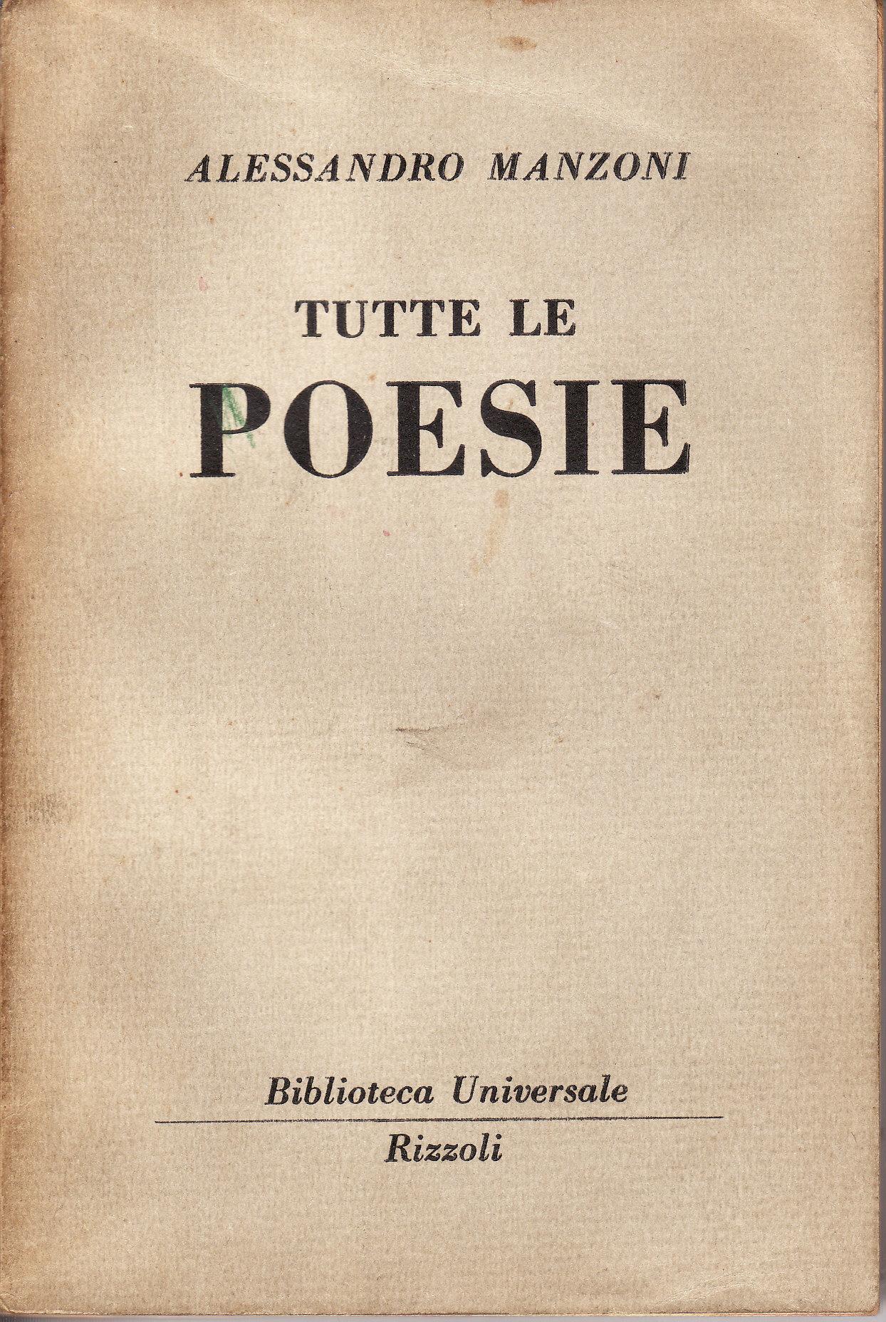Tutte le poesie