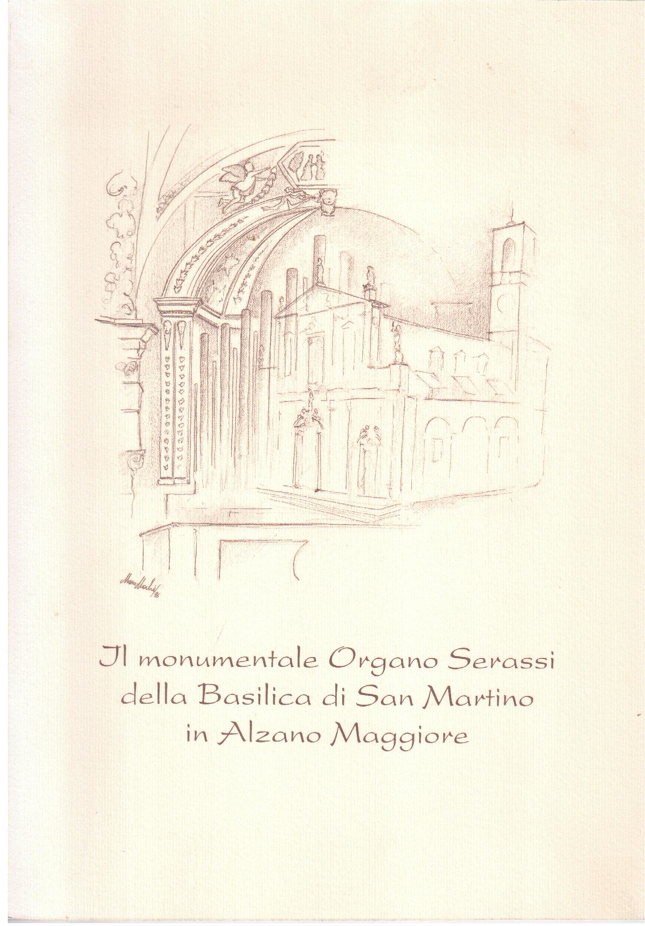 Il monumentale Organo Serassi della Basilica di San Martino in Alzano Maggiore