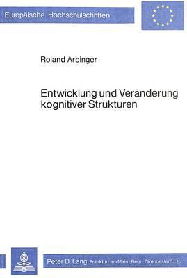 Entwicklung und Veränderung kognitiver Strukturen