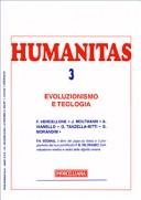 Humanitas (2008). Vol. 3: Evoluzionismo e teologia.
