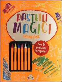 Pastelli magici (arancione). Con gadget