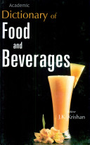 Dictionary of Food and Beverages