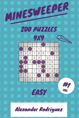 Minesweeper Puzzles 9x9 - Easy 200 vol. 1