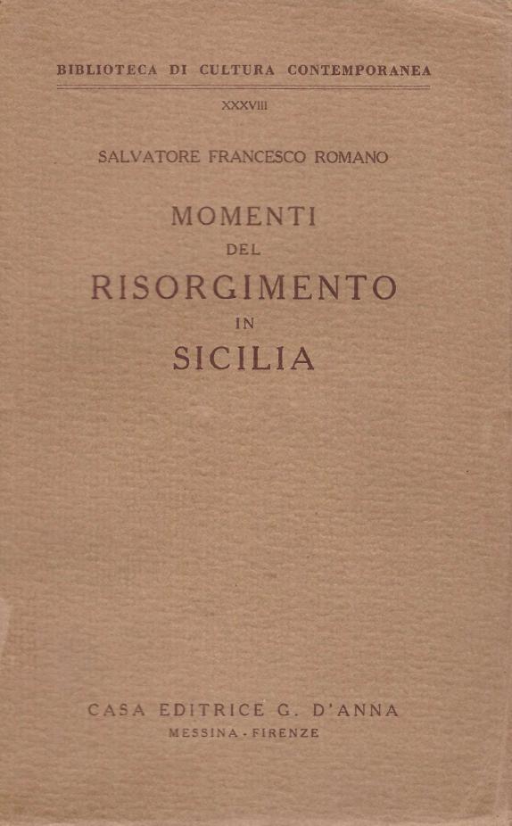 Momenti del Risorgimento in Sicilia