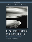 University Calculus, Early Transcendentals, Multivariable