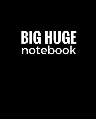Black Big Huge Notebook