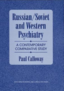 Russian/Soviet and Western psychiatry
