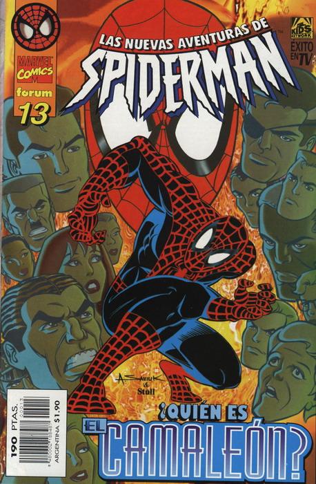 Las nuevas aventuras de Spiderman Vol.1 #13 (de 15)