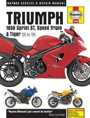 Triumph 1050 Sprint ST, Speed Triple & Tiger 2005 - 2013