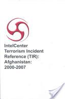 IntelCenter Terrorism Incident Reference (TIR)
