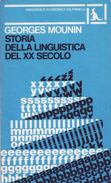 Storia della linguistica del XX secolo