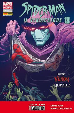 Spider-Man il vendicatore n. 18