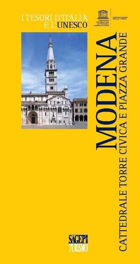 Modena, cattedrale, torre civica e piazza Grande
