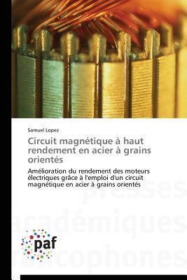 Circuit Magnetique a Haut Rendement en Acier a Grains Orientes