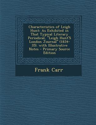 Characteristics of Leigh Hunt