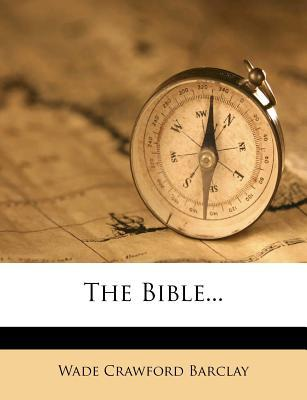 The Bible...