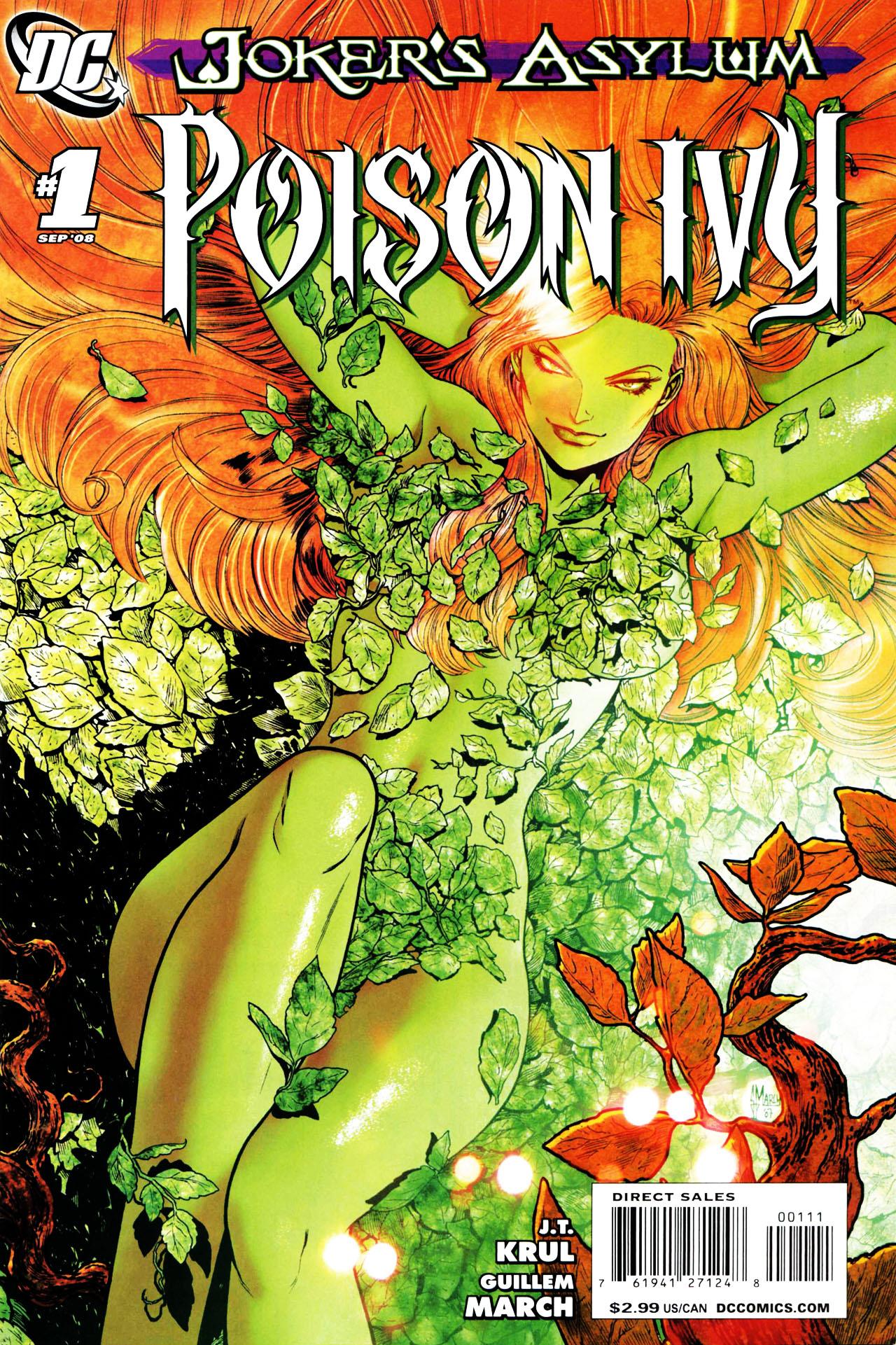 Joker's Asylum: Poison Ivy Vol.1 #1