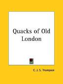 Quacks of Old London 1928