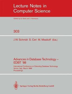 Advances in Database Technology - Edbt '88