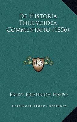 de Historia Thucydidea Commentatio (1856)